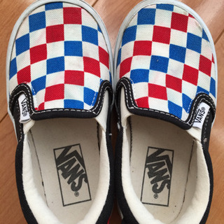 [値下げ] VANS 子供靴 16センチ - 売ります・あげます