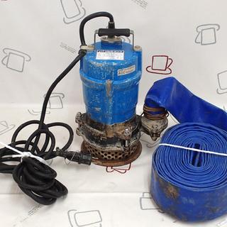 ♪ツルミポンプ HS2.4S-51 排水作業に♪