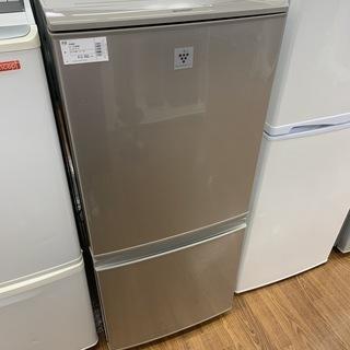 【6ヶ月の保証付き】SHARP(シャープ)2ドア冷蔵庫 S…
