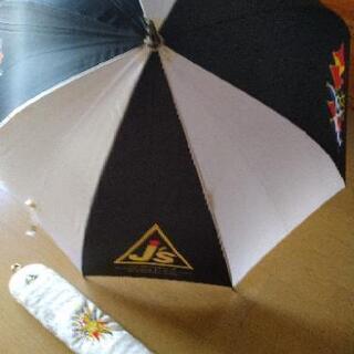 ジャンボ尾崎 ショルダーパット、傘