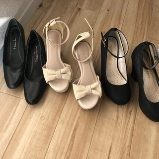 靴3足 (ほぼ新品です)