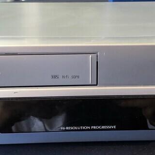 toshiba VTR一体型 DVDビデオプレーヤー