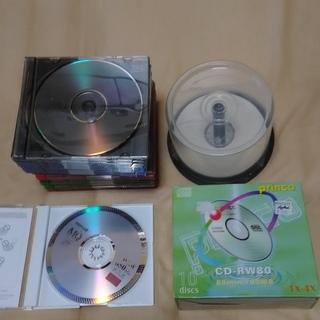 (交渉中)書き込み用 CD-R数十枚 CD-RW1枚