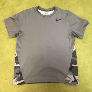 NIKE DRI-FIT Tシャツ 迷彩 グレー XL