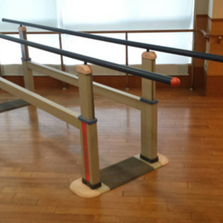 歩行用平行棒 ☆80589 昇降式 両直線型 3.5m