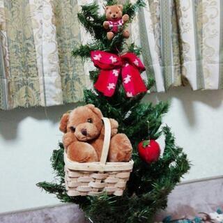 テディーベア クリスマスツリー