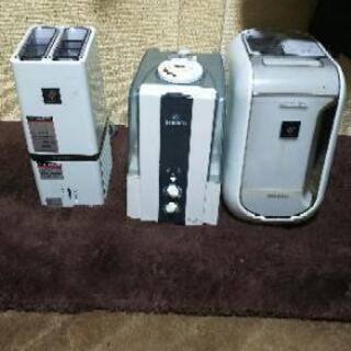 プラズマイオン発生機 プラズマイオン加湿器 超音波加湿器三点セット