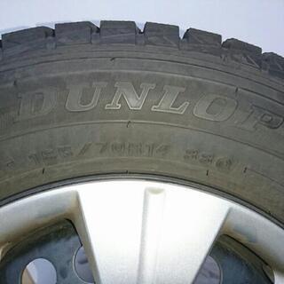 185/70R14 スタッドレスタイヤ フリード