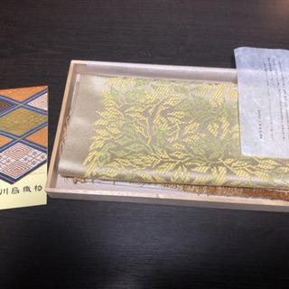 美品 和のテーブルセンター 川島織物