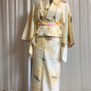 小紋の2部式着物