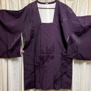 着物コート 道行(みちゆき) 深い紫色