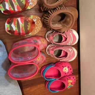 女の子靴 ムートン等