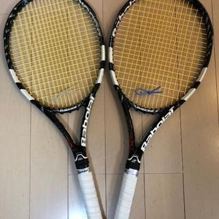 テニス ラケット バボラ ピュアドライブ2012 (2本セット)...