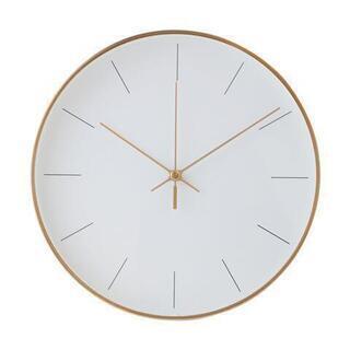 ※ほぼ新品、傷なし※ FrancFrancゴールド壁掛け時計