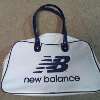ニューバランス エナメル スポーツバッグ