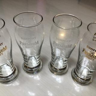 サントリープレミアムモルツグラス4個