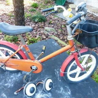 子供用自転車 16インチ 補助輪付き + おまけ一輪車