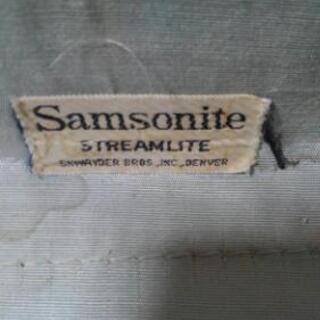 SANYO  STREAMLITE  レトロスーツケース - 売ります・あげます