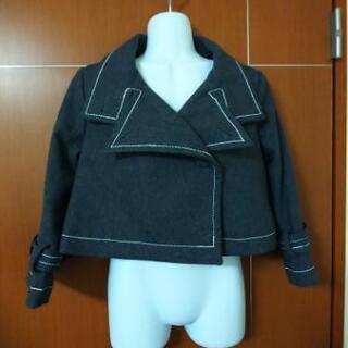 グレーのコート?Mサイズ