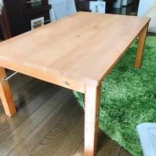 無印良品 折り畳みローテーブル