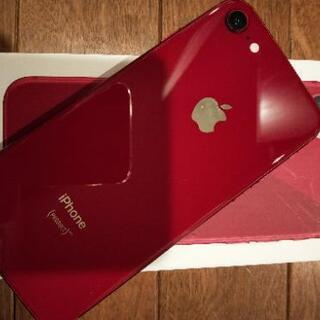 【美品】iPhone 8 64 GB product RED 赤...