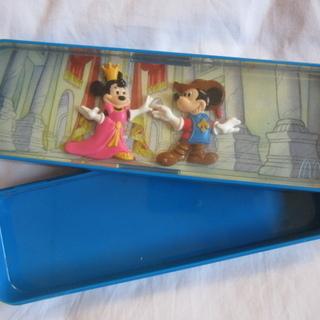 ミッキー&ミニーのペンケース