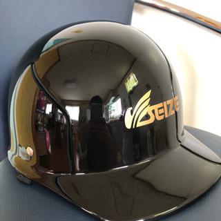 ヘルメット ☆ バイク つばあり 黒 原付 125cc 以下 送...