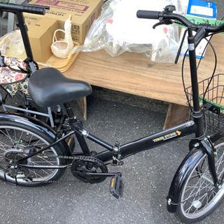 6段ギア 折りたたみ 自転車