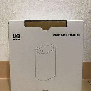 【未使用 新品】UQ  wimax HOME 01