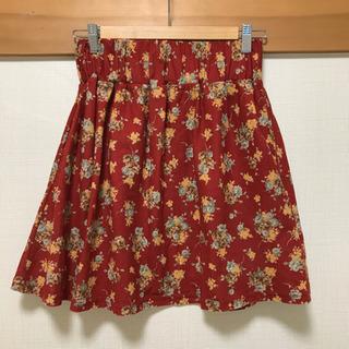 レディース スカート 赤