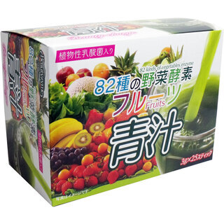 82種の野菜酵素 3g×25スティック