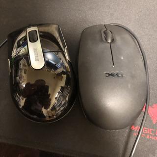 マウス2個セット 中古品