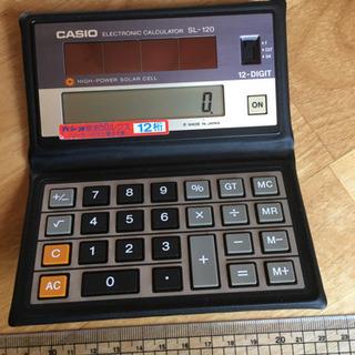 CASIO ソーラー充電式小型電卓