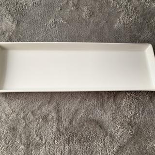 【4枚セット】おしゃれな白い長皿⭐︎