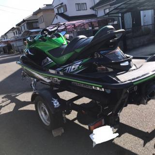 カワサキ ウルトラ310LX  琵琶湖艇 トレーラーセット - バイク