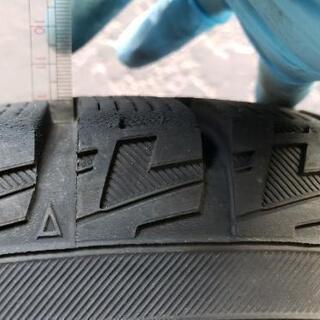 スタッドレス タイヤ&ホィール 中古4本サイズ:195/65 R15
