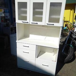 キッチンボード W105 D43 H182㎝ 中古品