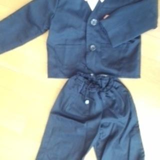 幼稚園入園 男児スーツとワイシャツ(手作り)