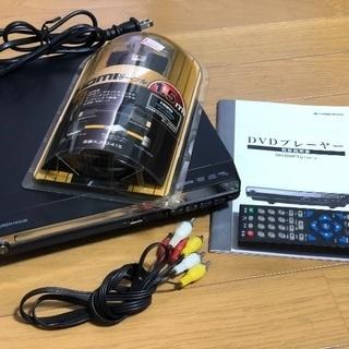 コンパクトデザインのHDMI対応DVDプレーヤー ケーブル付き