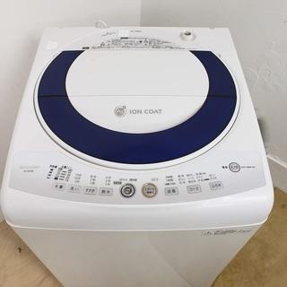 SHARP洗濯機 簡易乾燥機付き 7kg 東京 神奈川 格…
