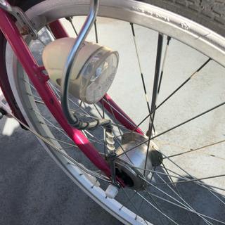 女児向け自転車、24インチ
