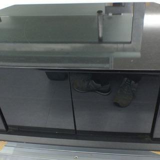 テレビ台 黒 テレビボード AVボード  ¥4,000-