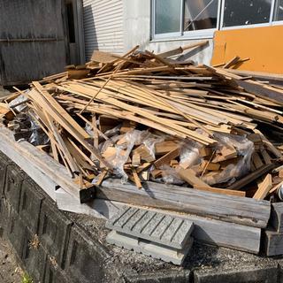 薪、焚き付け、工作、冬仕度