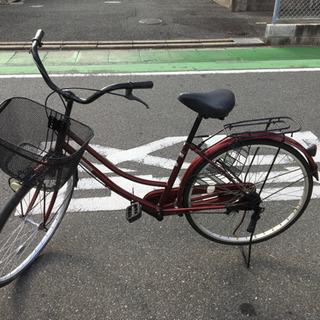 26インチ  ママチャリ 中古自転車になります