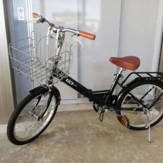 [取引終了]20インチ折り畳み自転車