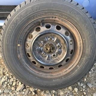 スタッドレスタイヤセット 195/65R14 5穴 4本セット