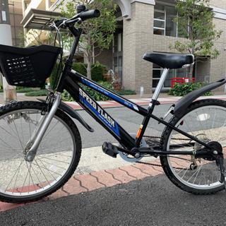 22インチ 6段変速 小学生用 自転車 格安譲渡♪
