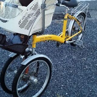 子供乗せ自転車!3輪