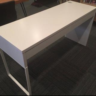 【受け渡し決定】【11/30まで】IKEA ホワイトデスク…
