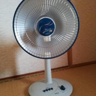 赤外線ヒーターと扇風機のセット